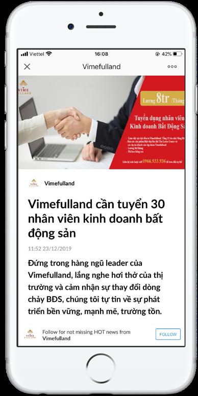 Hình thức quảng cáo bài viết