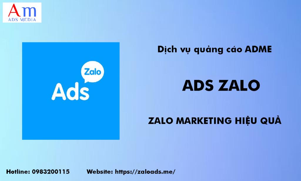 Dịch vụ quảng cáo Zalo _A.m
