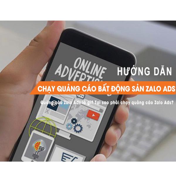 Quảng cáo bất động sản trên Zalo Ads